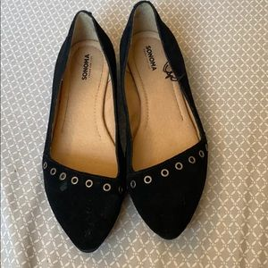 Shoes - Black flats size 9.5